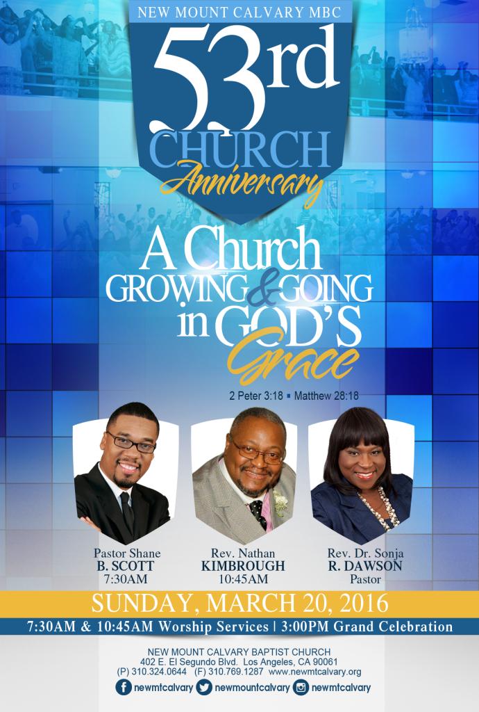 53rd Church Anniversary
